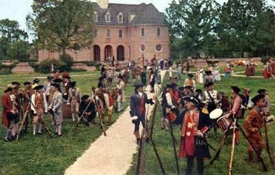 Historic Williamsburg Virginia