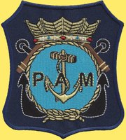 Embleem Post Actieve Marinevereniging.