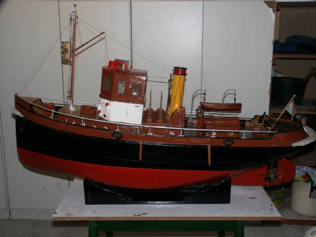 Model tweede Pampusboot.