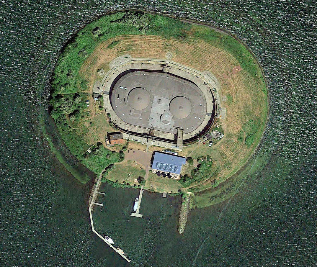 Luchtfoto Pampus aug. 2015